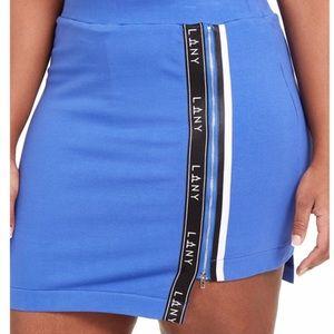 Lala Anthony Sporty high-low hem Active mini skirt